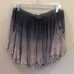 flowy free people skirt